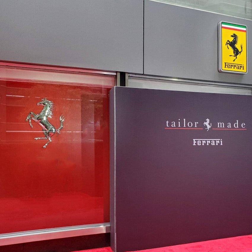 Ferrari tailor Made in New York