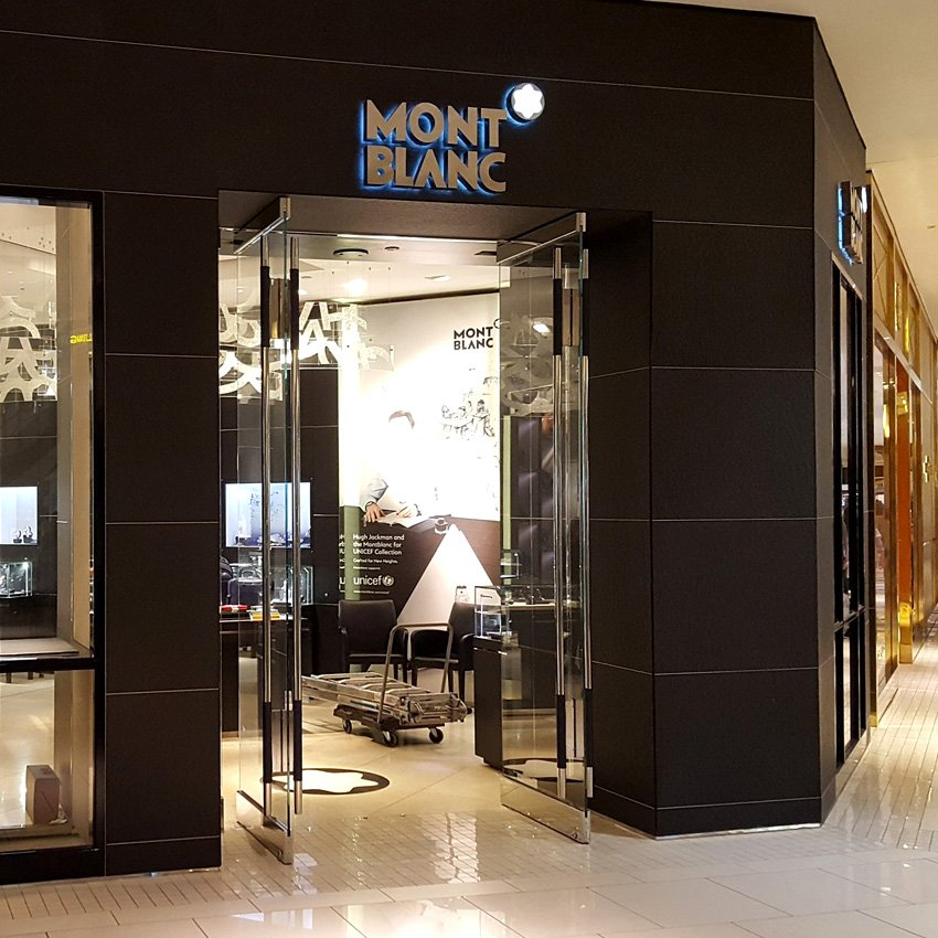 Montblanc Storefront in New York